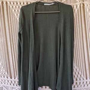 Urban Outfitters Kimchi Blue Sweater Green Wrap